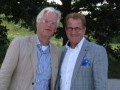 Hans Verschoor (links) en Leen Geluk herkennen Nimeto-leerlingen altijd aan een bepaalde manier van presenteren