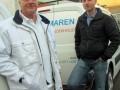 Verantwoordelijk voor de onderhoudsklus waren vakschilder Ton van Klink (links) en bedrijfsleider Jeroen van Veen
