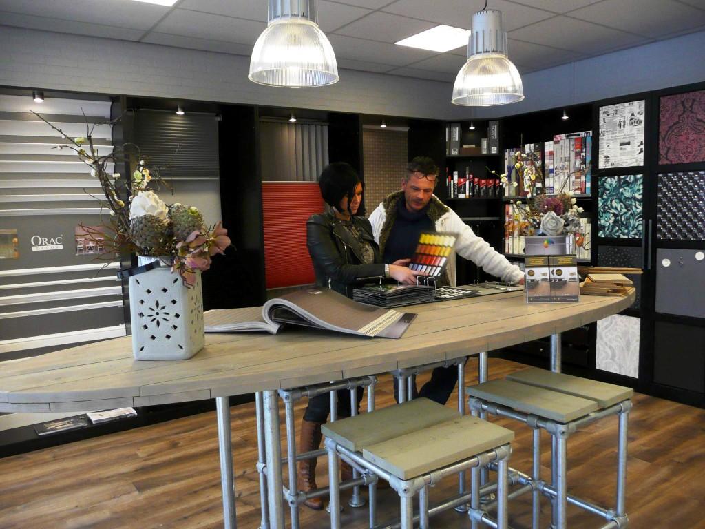 De Deco-hoek in Gouda is al in gebruik. De showroom in Zoetermeer opent in maart.