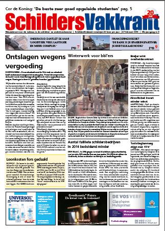 SchilderVakkrant nr 3 - 2015