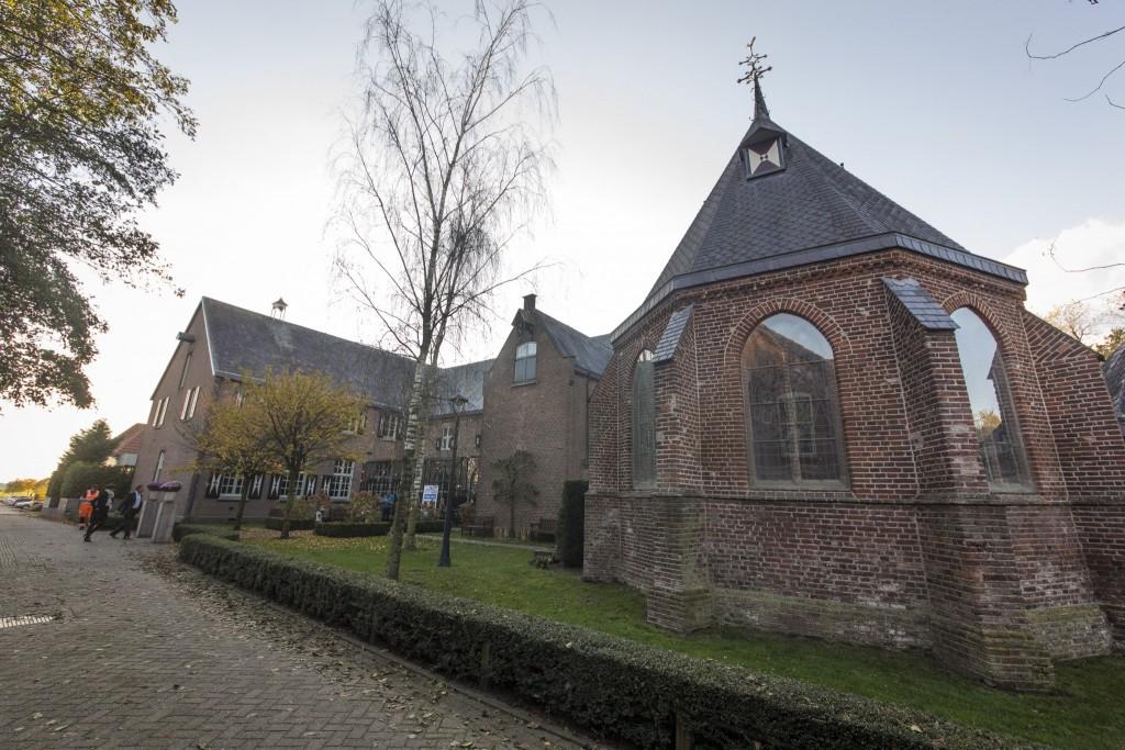 Voormalig klooster Bethlehem in Haren (NB), sfeervolle locatie voor de finale van de Schildersvakprijs 2015.