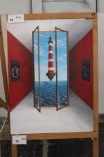 Winnend paneel van Gerlinde Visscher in de categorie vrije opdracht.