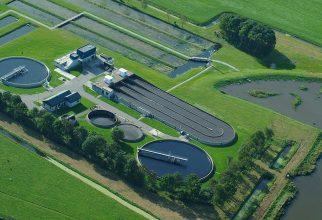 Biopolymeren gewonnen uit afvalwater