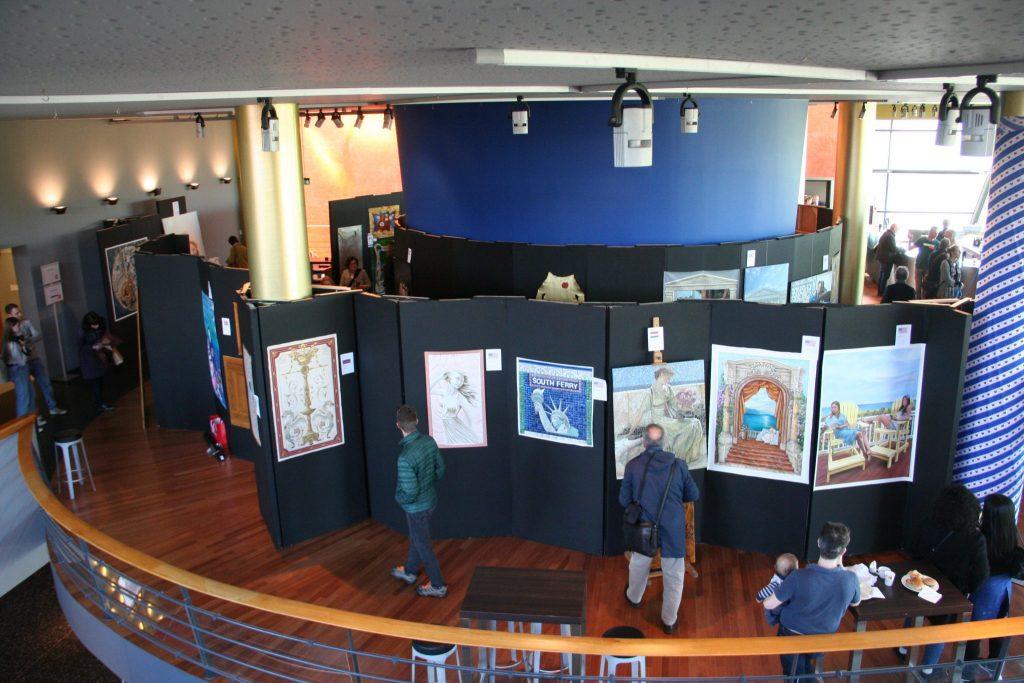 Veel bezoekers op salon u schildersvak